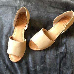 "Latigo 2"" Bronte wedge with cork heel"